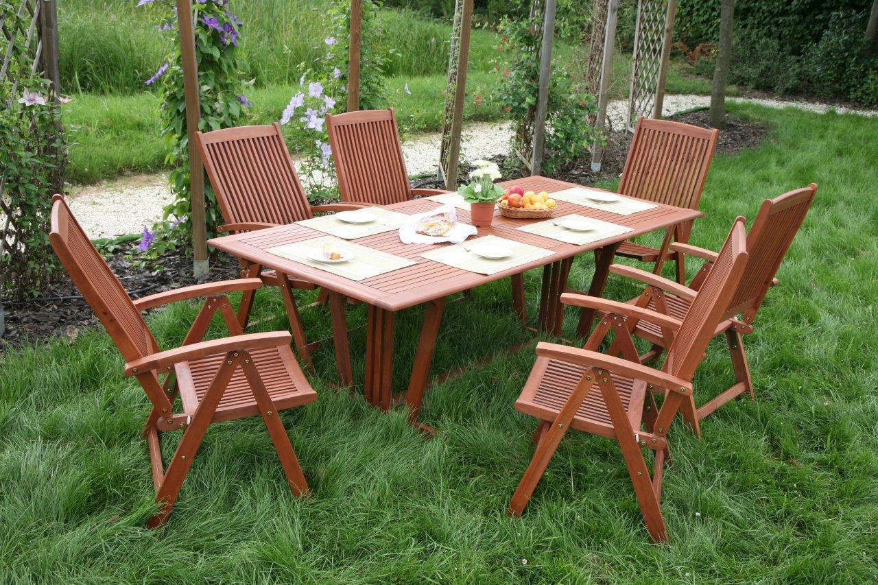 Meble Ogrodowe Drewniane Na Allegro : Meble ogrodowe BARBADOS drewniane RED BALAU 6+1 !! (3393964770)